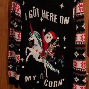 Sweaters - ✨I Got Here On My Unicorn Ugly Christmas Sweater✨